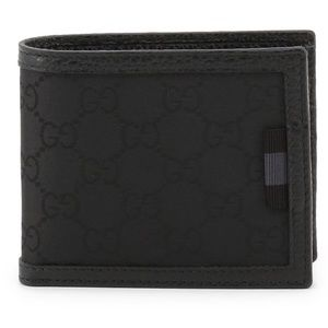 Gucci Mens Guccissima Wallet Coin Pouch Card Case